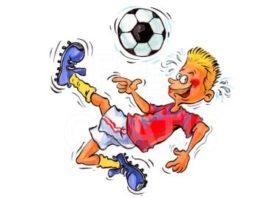 Fußball-Schnuppertraining beim TSV Weyhers